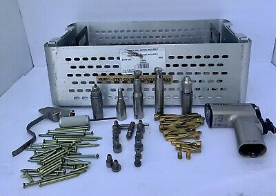 Stryker Lot Drill 4200 Cordless Driver 2 Set With Accessories