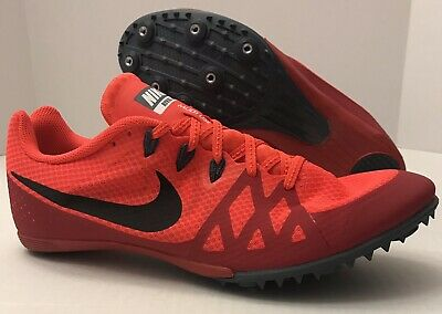 separation shoes b63a7 413df NIKE Zoom Rival MD 8 Track Spikes 806555-614 Bright Crimson (MEN S 12)  NO  BOX