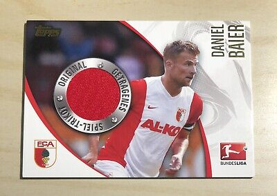 Topps Bundesliga Chrome 2014-15 Trikotkarte Daniel Baier/Augsburg /400 image