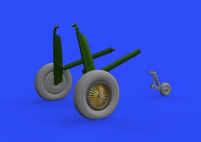 EDUARD BRASSIN 648343 Wheels for Airfix® Kit Walrus Mk.I in 1:48