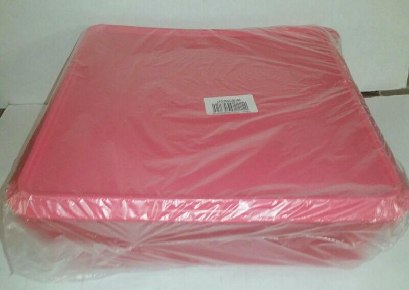 "SALE!Tupperware Snack N Stor 8.5""×8.5"" Air&Liquid Tight SealNew Watermelon Pink!"