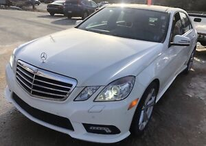 2010 Mercedes E550 4 Matic