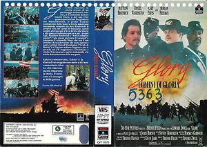 GLORY-UOMINI-DI-GLORIA-1989-vhs-ex-noleggio