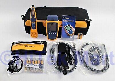 Fluke Networks Ms2-kit Microscanner 2 Intellitone Pro 200 Cable Test Kit