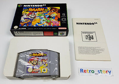Nintendo 64 N64 Super Smash Bros PAL comprar usado  Enviando para Brazil