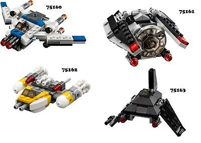 🔹NEW🔹 Lego Star Wars Series 4 Microfighters 🔹NO MINIFIGURES INCLUDED🔹