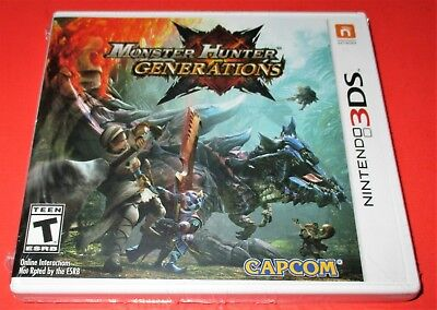 Monster Hunter Generations - Nintendo 3DS *Factory Sealed! *Free Shipping!, usado comprar usado  Enviando para Brazil