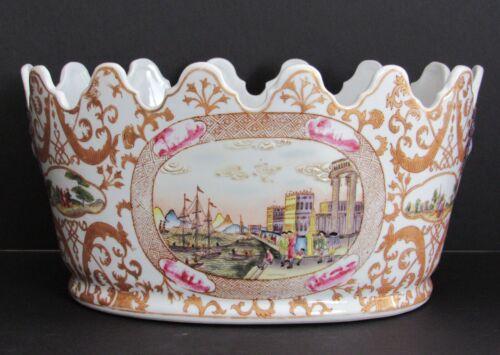 """12"""" Chinese Decorative Bowl Hua Ping Tang Zhi - Hua Ping Hall 1970s"""