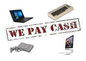 WE PAY CASH FOR LAPTOPS, NETBOOKS,  CONSOLES WORKING OR NOT