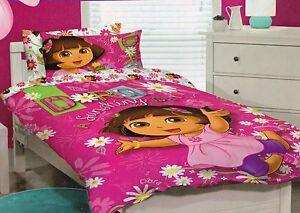 Single Bed Quilt Cover Set - Dora The Explorer South Penrith Penrith Area Preview