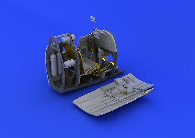 Eduard Accessories 632064 - 1:32 Spitfire Mk.II Cockpit For Revell - Resin Bausa