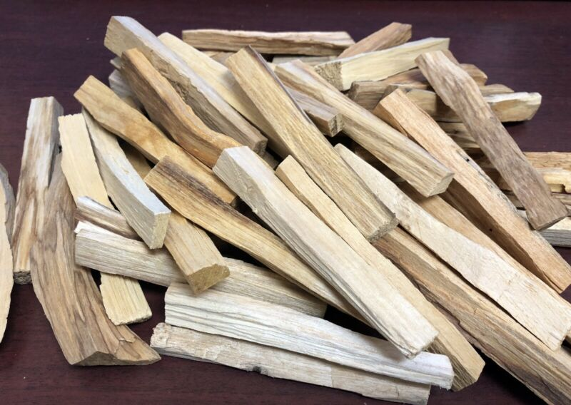 Bulk Palo Santo Holy Wood Incense Smudging Spirituality Cleansing Peru 1 LB