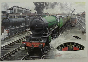 Football-Club-Railway-Train-Locomotive-Postcards-1994