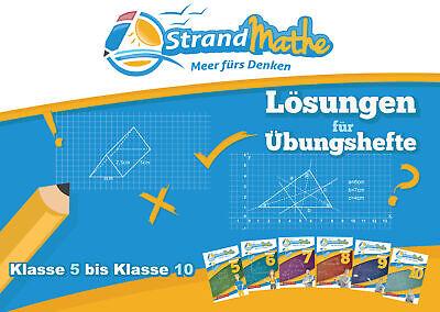 StrandMathe Lösungsheft zu Übungsheften Klasse 5-10: Lösungswege - Rechenschritt