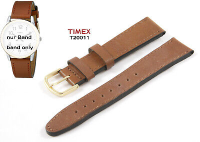 UPC 753048002740 product image for Timex Replacement Band T20011 Easy Reader Original 18mm Spare Leather Universal | upcitemdb.com