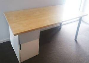 Desk with storage unit Brunswick East Moreland Area Preview