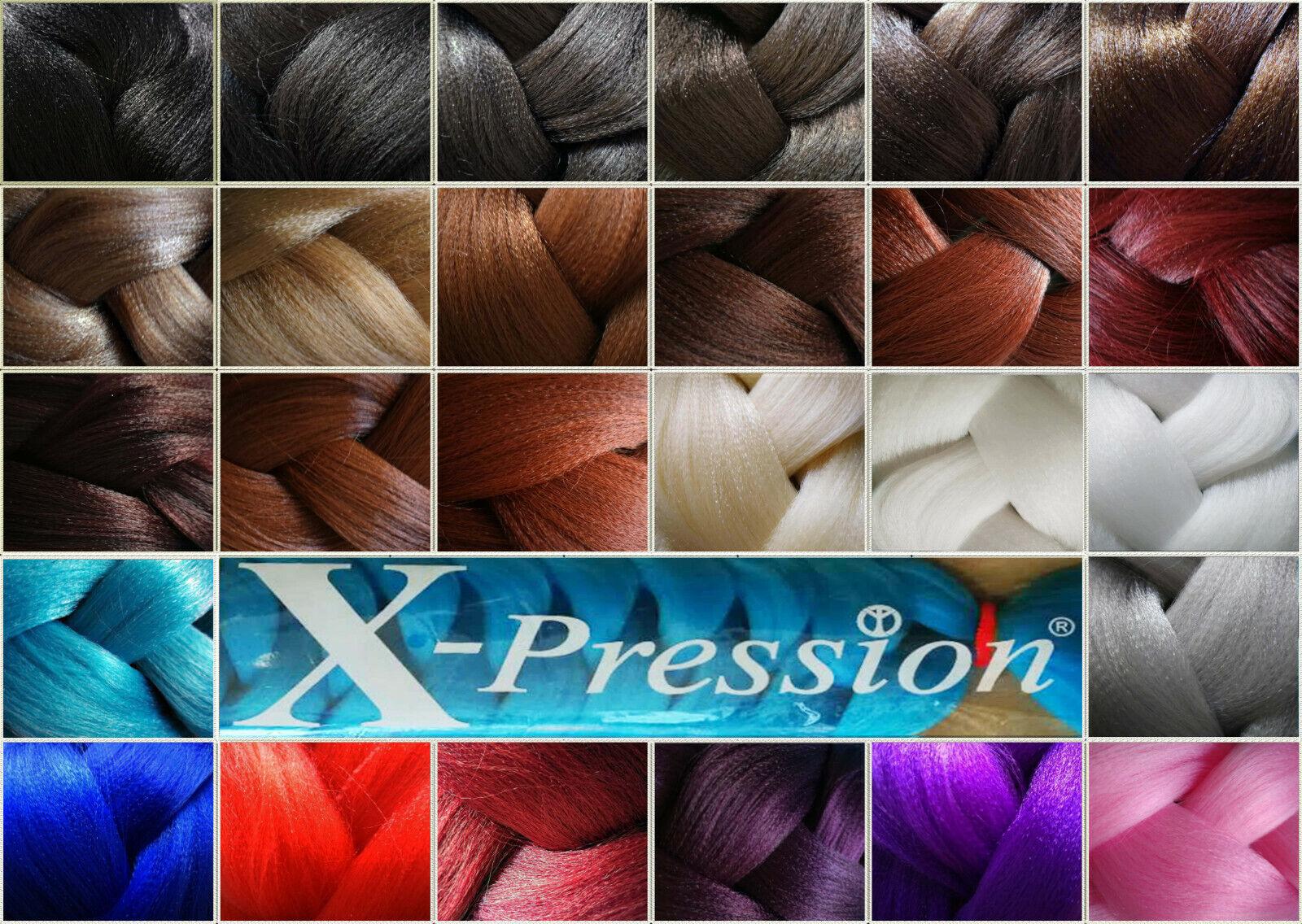 X-Pression Ultra Braid xpression Braids Rasta Cornrow Haarverlängerung Flechten