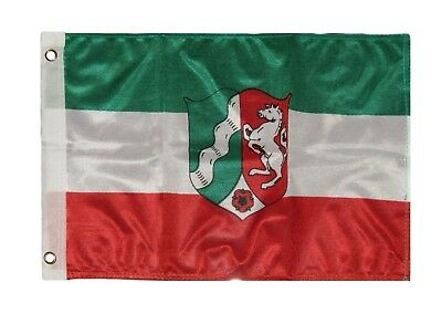 12x18 12''x18'' North Rhine Westphalia Rough Tex Knitted Flag Banner Grommets