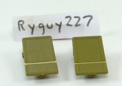 MOTU, Fright Zone connector tabs, Masters of the Universe, parts, side clips