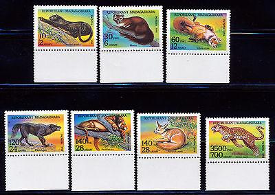 MADAGASCAR 1995 WILDLIFE SET SCOTT 1182-88