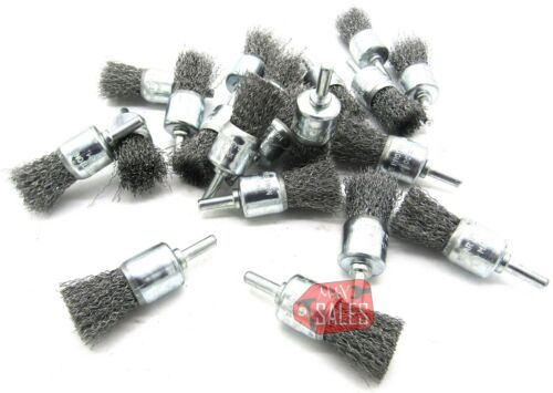 20pc Wire Wheel Brushes for Drill 1/4 Shank Huge Lot Box Set