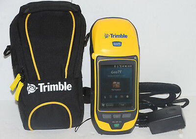 Trimble Geo 7x Gnss Handheld W Floodlight Nmea H-star Gps Glonas