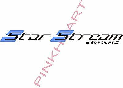 star stream starcraft Decals RV sticker decal graphics trailer camper rv LG