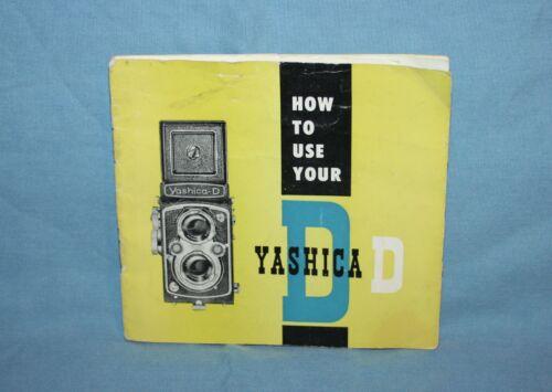 Yashica D Instruction Manual
