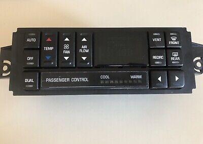 1997- 2005 BUICK REGAL & CENTURY DIGITAL HEATER CLIMATE CONTROL SWITCH 09352034