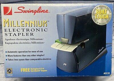 Swingline Millennium Electronic Stapler Model 51110 Black Office Equipment