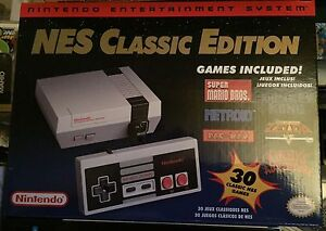 NES Classic System New Sealed