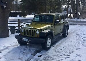 2008 4 dr Jeep Wrangler Unlimited