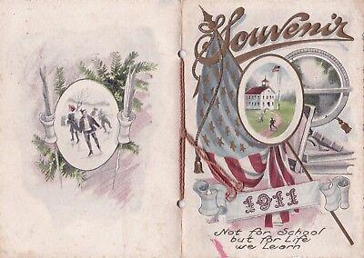 School Souvenir, Washington Township, Licking County, Ohio OH 1911