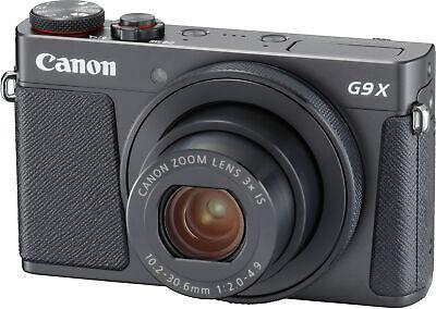 Canon PowerShot G9 X Mark II- Black