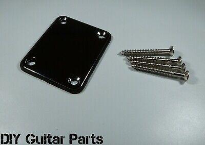 Guitar Bolt On Neck Plate Neckplate  inc Screws for Telecaster Stratocaster