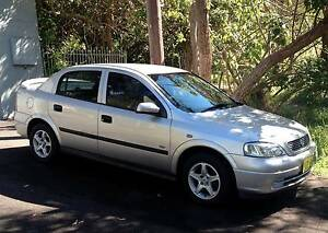 2002 Holden Astra Sedan Sports Automatic Umina Beach Gosford Area Preview