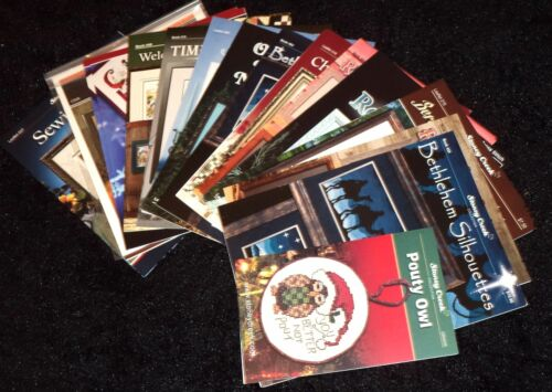 Stoney Creek Collection Counted Cross Stitch Patterns,Books,Leaflets YOU CHOOSE!