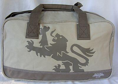 Royal Copenhagen Weekender Duffle Travel Overnight Gym Dragon Bag Cotton NEW