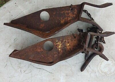Allis Chalmers Wc Cultivator Mount Bracket With Pins