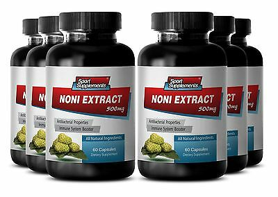 Morinda Citrifolia - Noni Extract 8:1 500mg Pure Organic Powder Capsules 6b