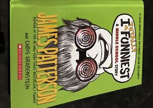 I Funny book for pre teens written by James Patterson