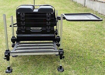 Fishing Seat Box , Preston OnBox  with Preston Side Tray