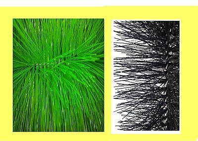 Filterbürsten Set 5 x fein und 5 x grob 40 cm lang Ø15 cm Koiteich Teichfilter