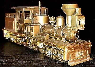 PFM United HOn3 Brass Benson Logging Co. Shay #528, Mint Original Box 1982