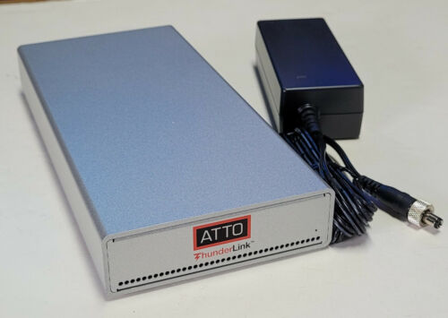 ATTO Thunderlink TLFC-2082-D00 Thunderbolt to 8Gb Fiber Channel #