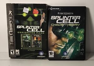 Splinter Cell Chaos Theory and Espionage pack for PC