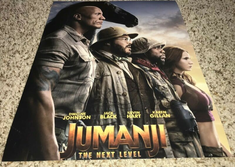 Danny Devito Signed 11x14 Photo Jumanji The Next Level With Proof