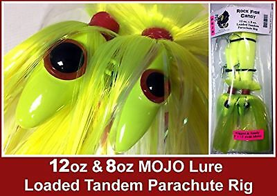 Blue Water Candy - Rock Fish Candy 12oz & 8oz Mojo Lure Loaded w/ 9