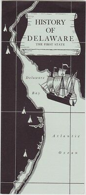 1960's History Of Delaware Brochure