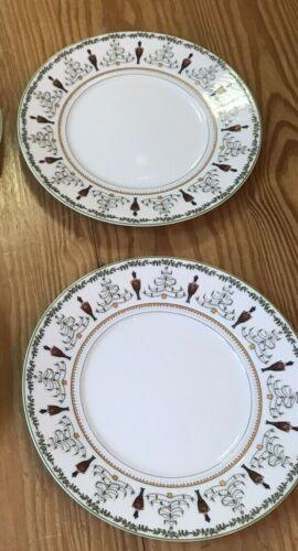 NEW BERNARDAUD Grenadiers Salad Plate Set of 2